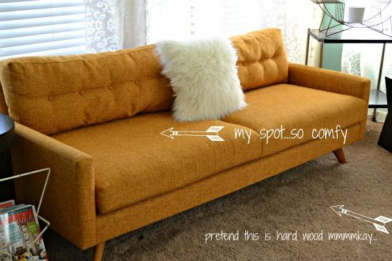 Sofa Cover mid century sofa love Taylor Sectional Thrive Furniture