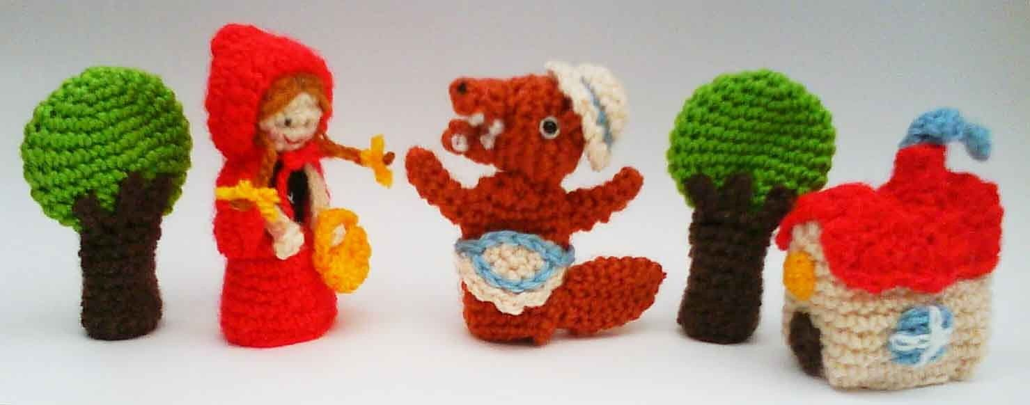 Cute finger puppets! | Fairy Tales | Pinterest