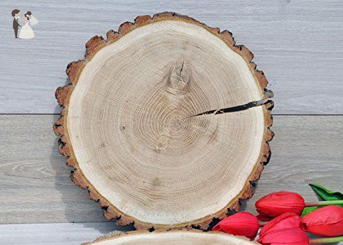 12 13 Oak Wood Slices For Centerpieces Wedding Centerpieces Wood Centerpieces Wood Slice Cake Wood Centerpieces Rustic Wedding Decor Wood Slice Centerpieces