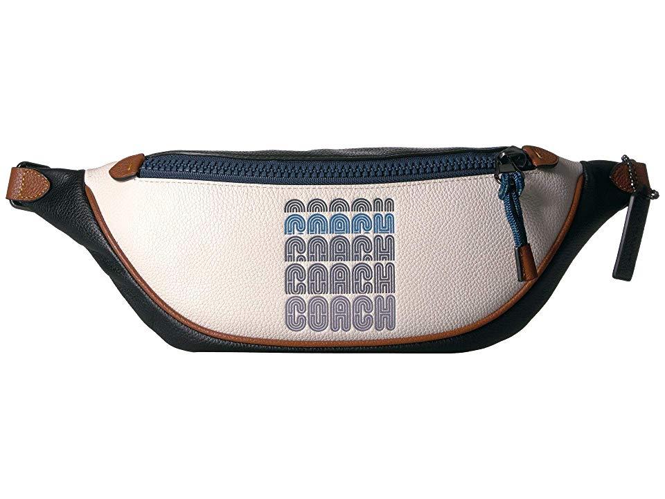 COACH Coach Print Belt Bag 40 Handbags Chalk MultiGunmetal