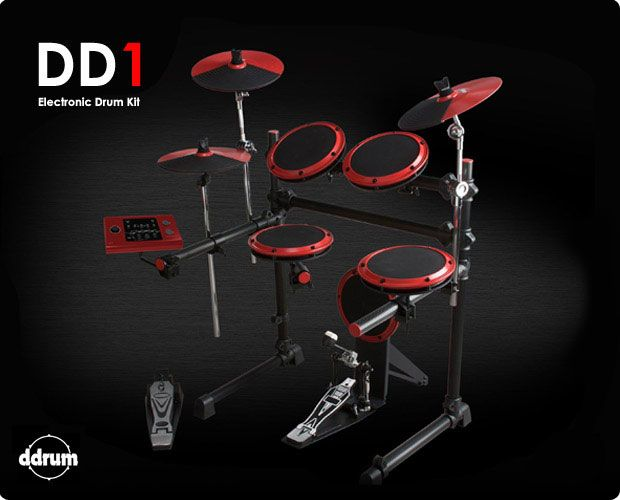 ddrum DD1 Complete Electronic Drum Kit! Comes with Earbuds