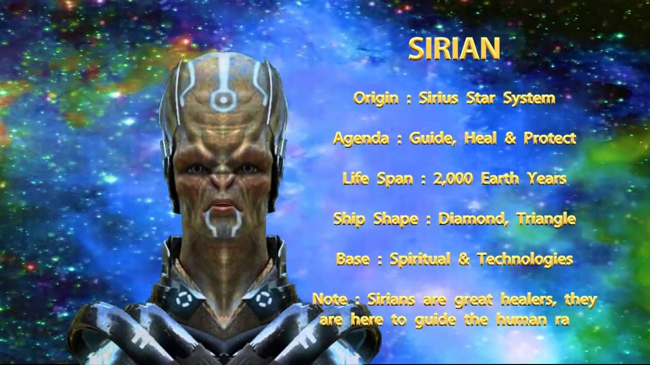 THE STAR RACES - SIRIAN | Ancient in 2019 | Ancient aliens