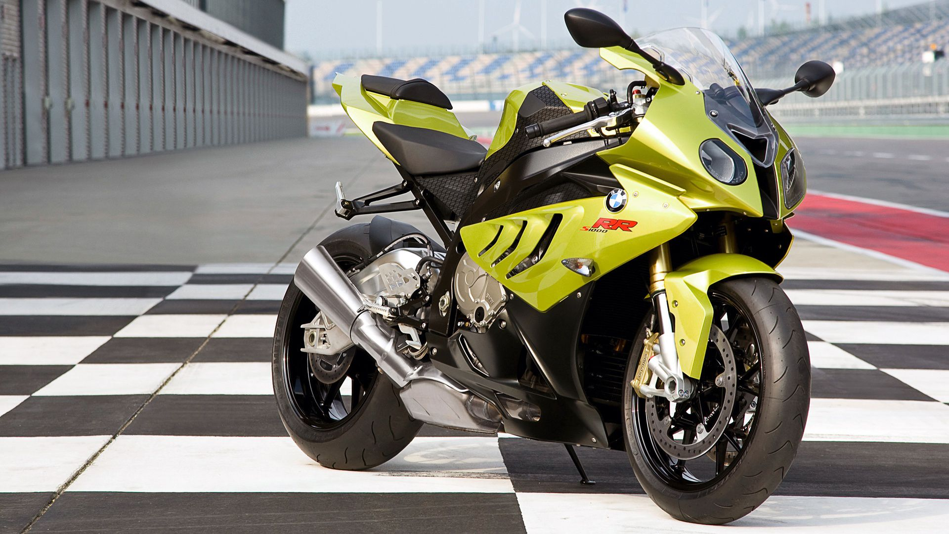 Yellow Bmw Sports Bike Hd Wallpaper Bmw S1000rr Bmw Motorcycles Bmw Sport