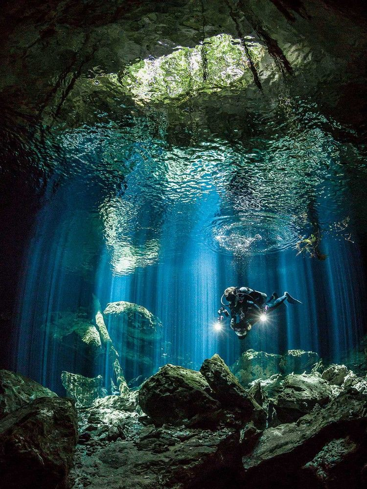 The Best Destinations For Diving Caves, Caverns And