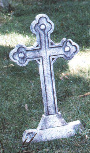 Tombstone Cross Patio, Lawn  Garden Crafts Etc