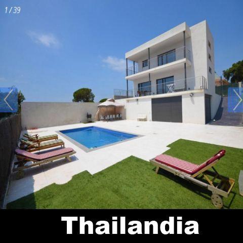 Vakantiehuis Lloret de Mar Costa Brava Villa Spanje huren Thailandia