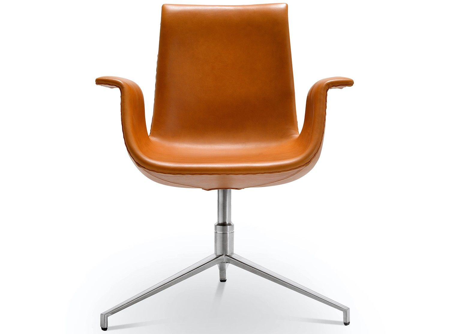 This is a platinum replica FK 6725 Bucket Chair designed by Jorgen ...