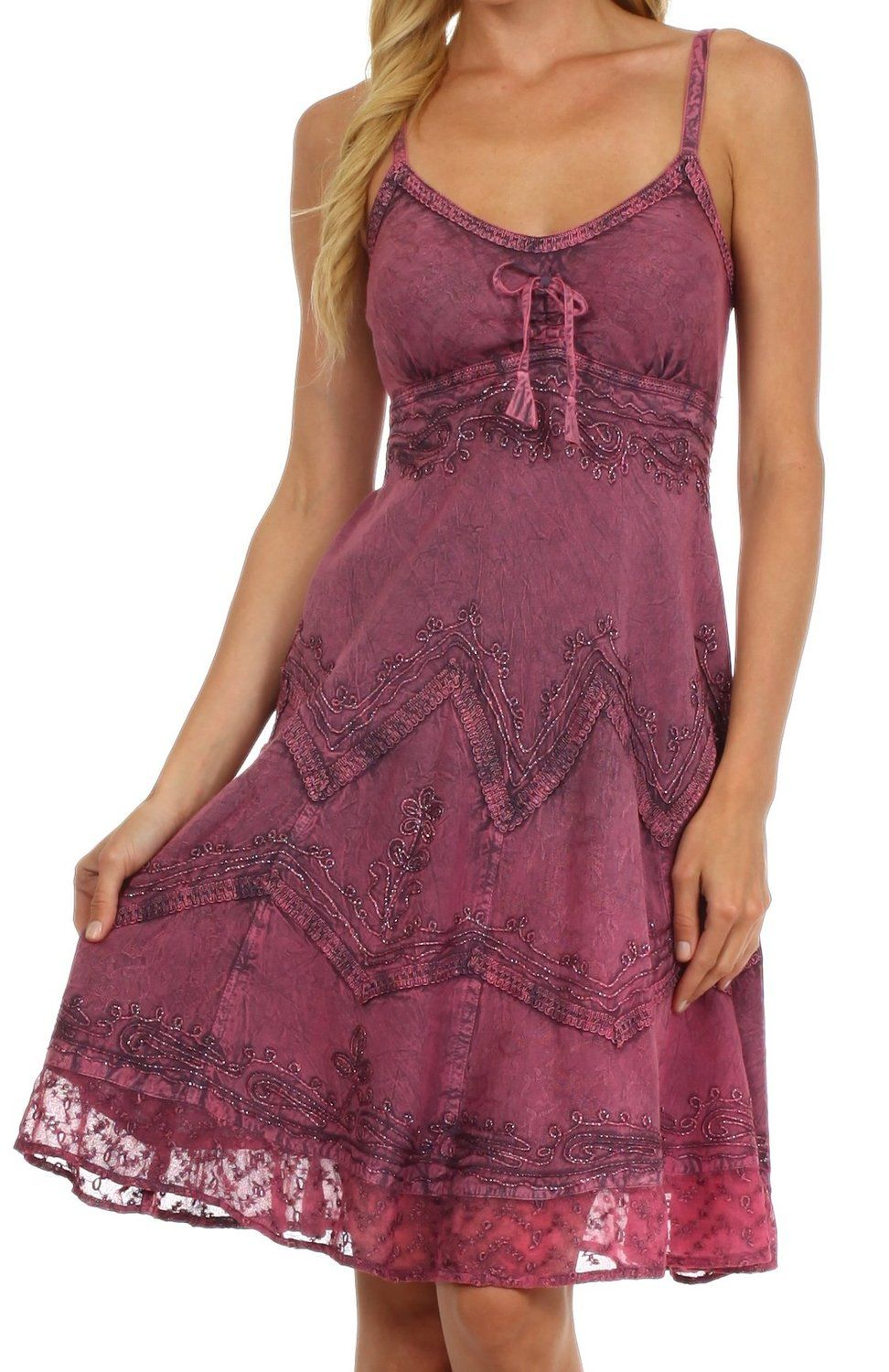 Summer Dress to wear with Cowboy Boots | Vestuario-Outfits | Pinterest
