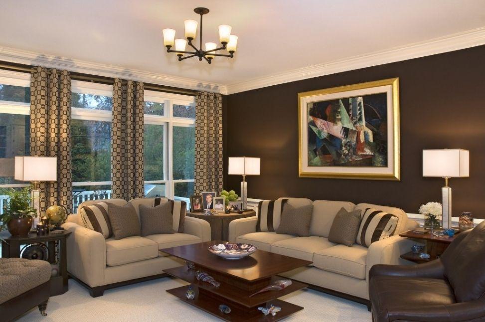 40 Best And Adorable Modern Living Room Decoration Ideas Spring Summer 2017 Https Freshouz Brown Walls Living Room Brown Living Room Decor Brown Living Room