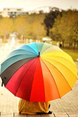 Colorful Umbrella Iphone Wallpaper Mobile Wallpaper Guarda Chuva Papel De Parede Celular Natureza