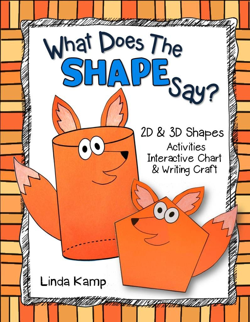 What Does The Shape Say Fun 2d 3d Shape Activities Printables Attribute Booklets In Shapes Activities 3d Shapes Activities Shape Activities Kindergarten [ 1027 x 796 Pixel ]