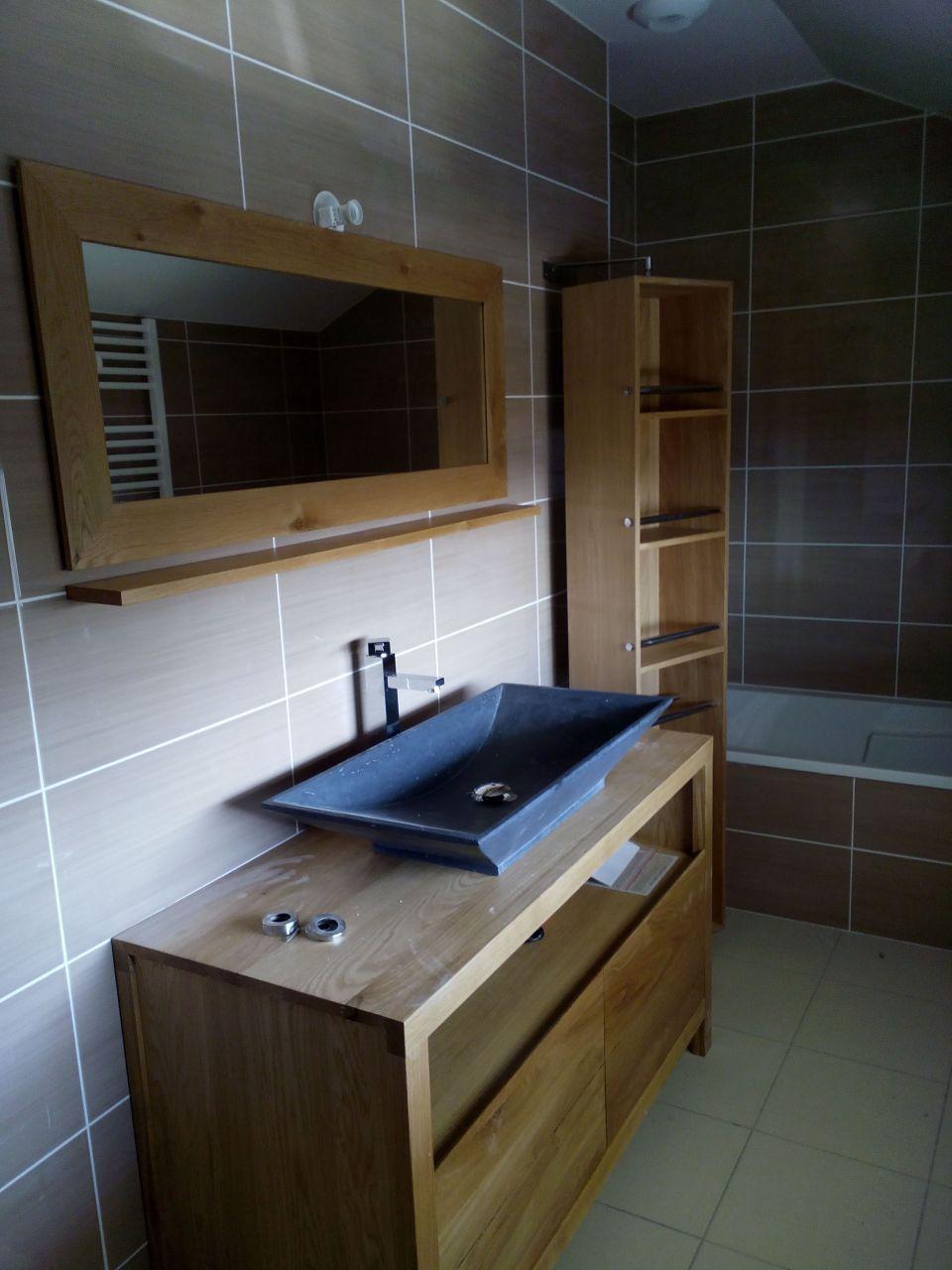 salle de bains quasi termin e notre petit chez nous par ecapoe sur. Black Bedroom Furniture Sets. Home Design Ideas