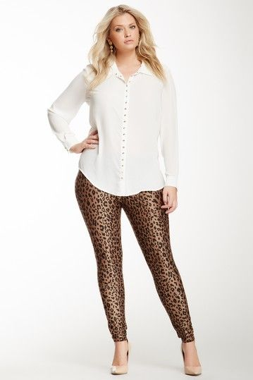 PEGGY BUNDY!! Plus Size Animal Print Leggings | Franczhesca's ...