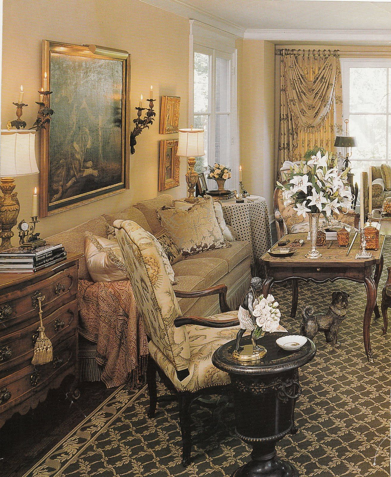 Hydrangea Hill Cottage: French Country Decorating. I Am