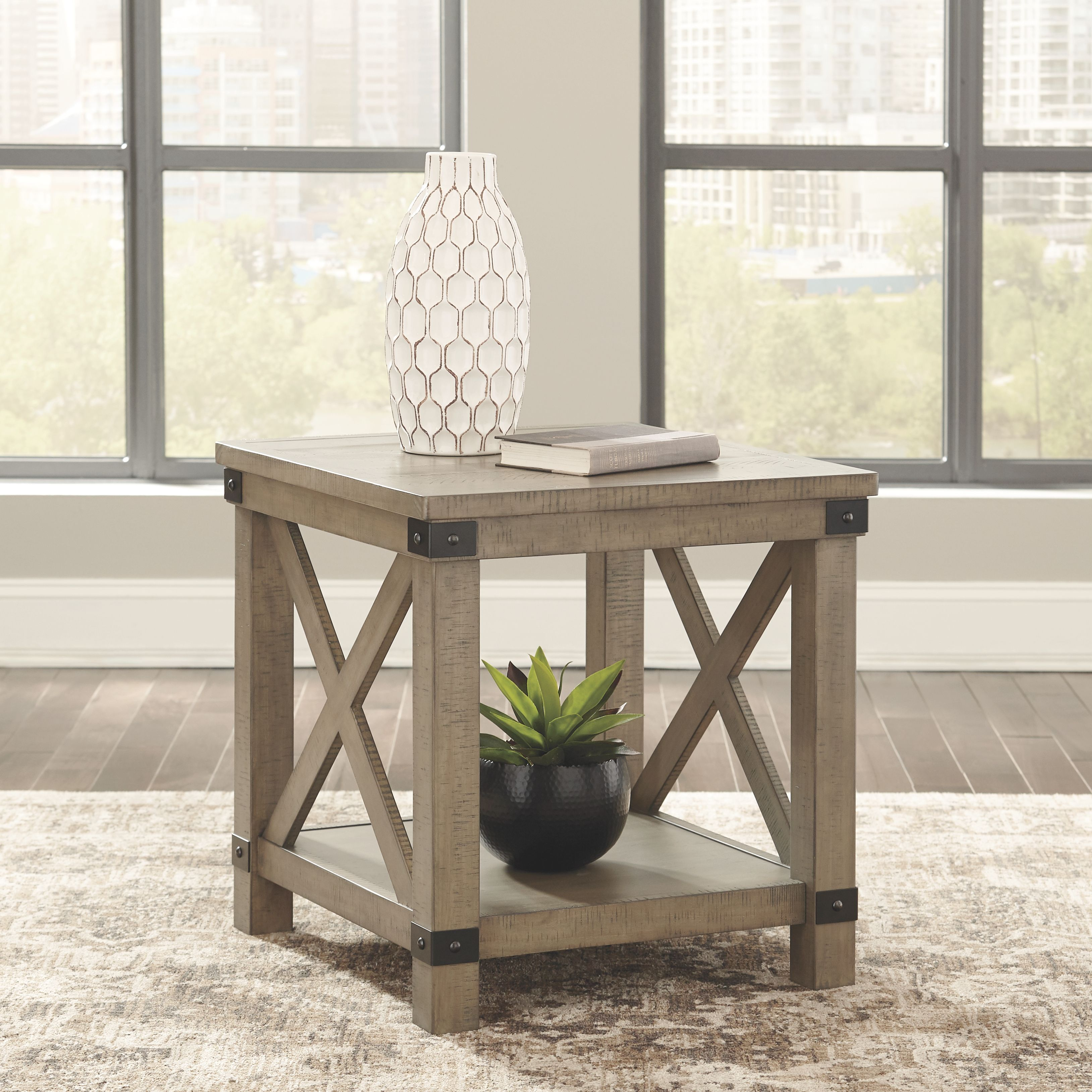 Aldwin End Table Gray Living Room End Tables End Tables Furniture