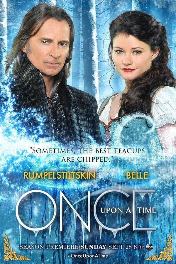 Novo pôster da 4ª temporada de Once Upon a Time traz Rumple e Belle ...