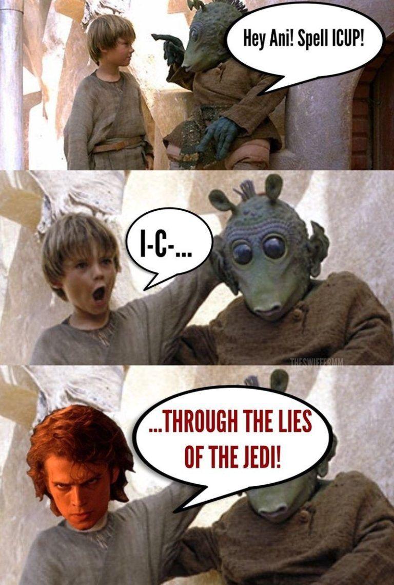 40 Star Wars Prequel Memes Funnyfoto Star Wars Humor Funny Star Wars Memes Star Wars Memes