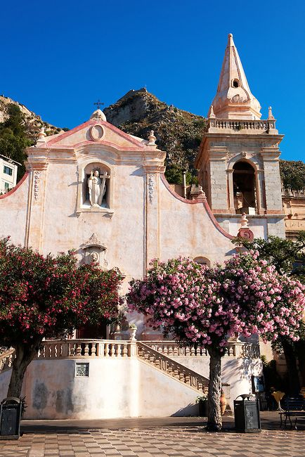 Church of St Joseph in Taormina - Sicily, Italy