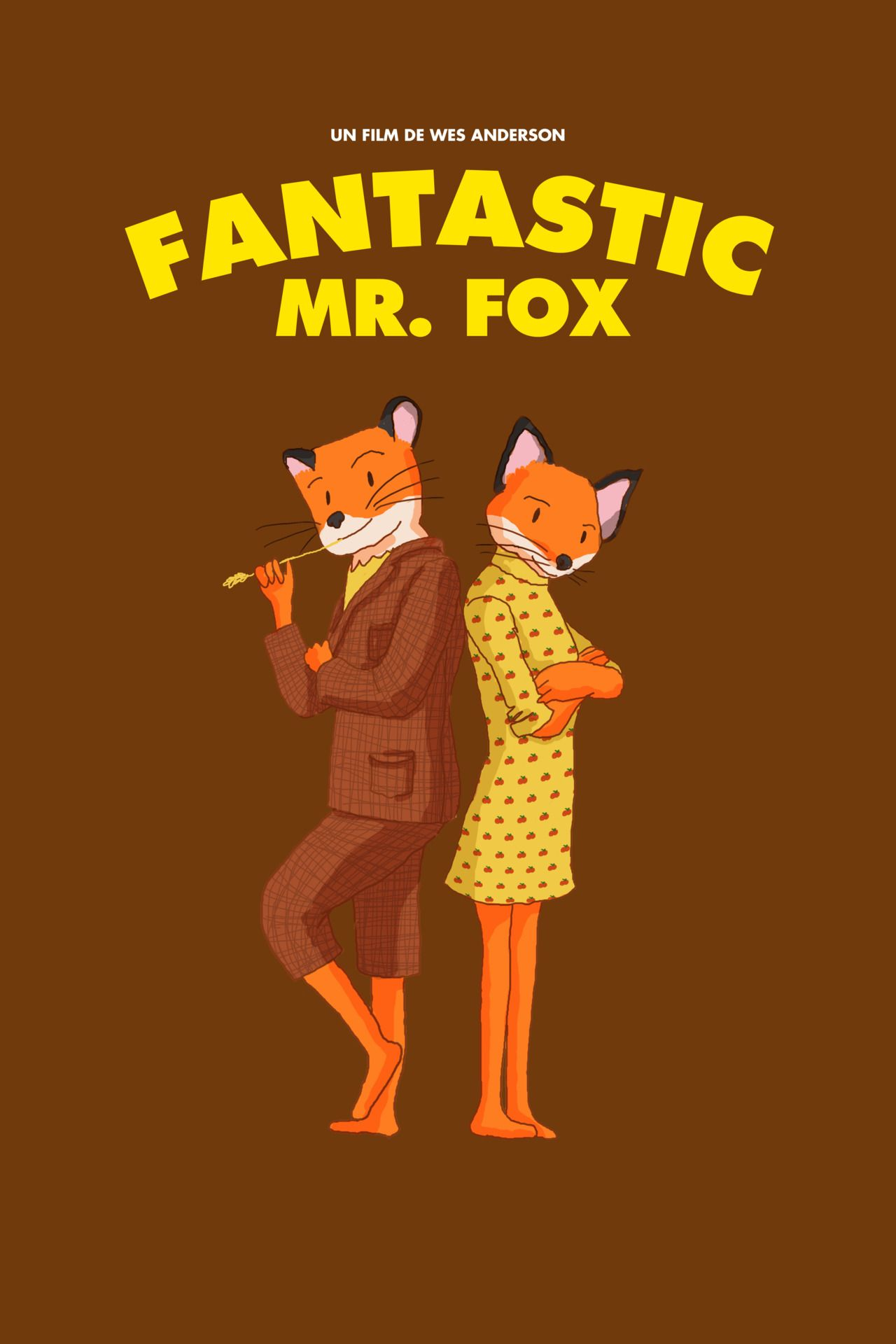 fantastic mr fox movie photo print