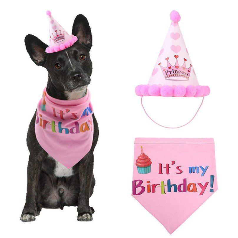 Pet Cat Dogs Caps Birthday Headwear Hat Party Costume Cap Pets Accessories Unisex 25d28 16