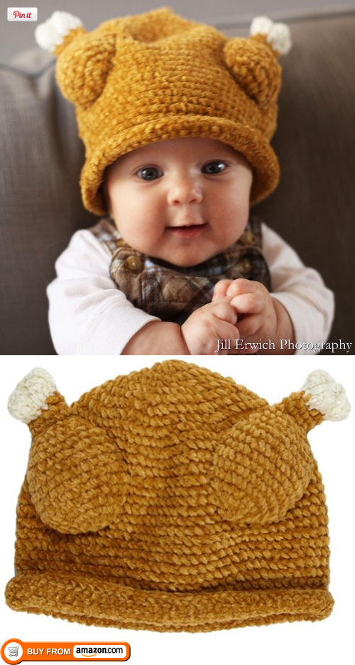 7e396064023 Melondipity s Baby Turkey Hat (0-6 months)