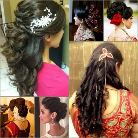 Indian Wedding Hairstyles For Mid To Long Hairs Paper Wedding Look
