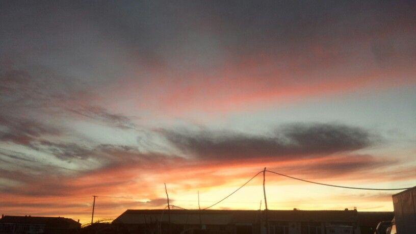 Sunset in Inner Mongolia!