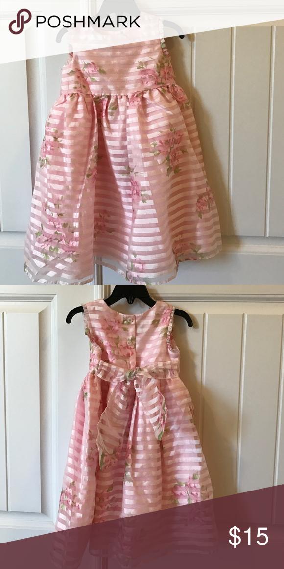 Toddler Dress Formal Dress Formal And Pink White