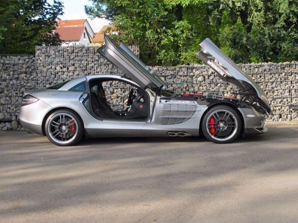 2007 Mercedes Benz Slr Mclaren Coupe 722 Edition 1 Of 150 Tags
