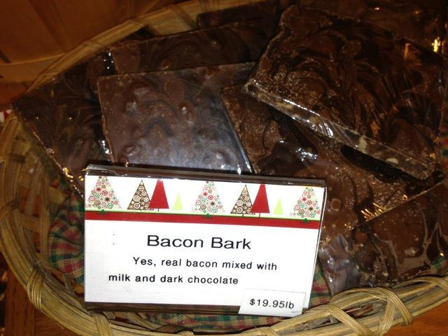 Bacon Bark. Brilliant!