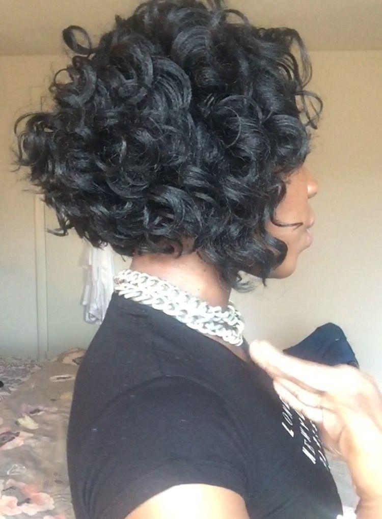 Kima Ocean Wave Curly Crochet Bob Oceanwave Crochetbraids Curly Crochet Hair Styles Crochet Hair Styles Crochet Braids Hairstyles