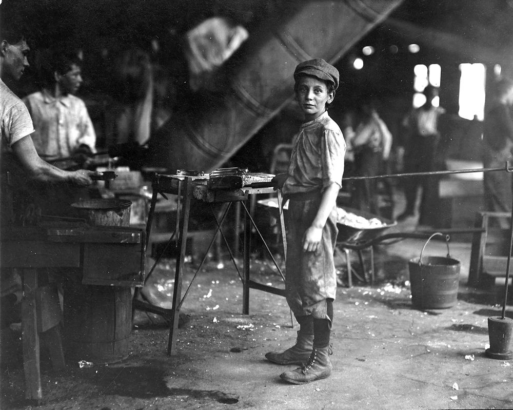 Glass factory worker victorian and edwardian pinterest