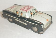 Vintage 1950 S Linemar Tin Litho Friction State Police Car Japan