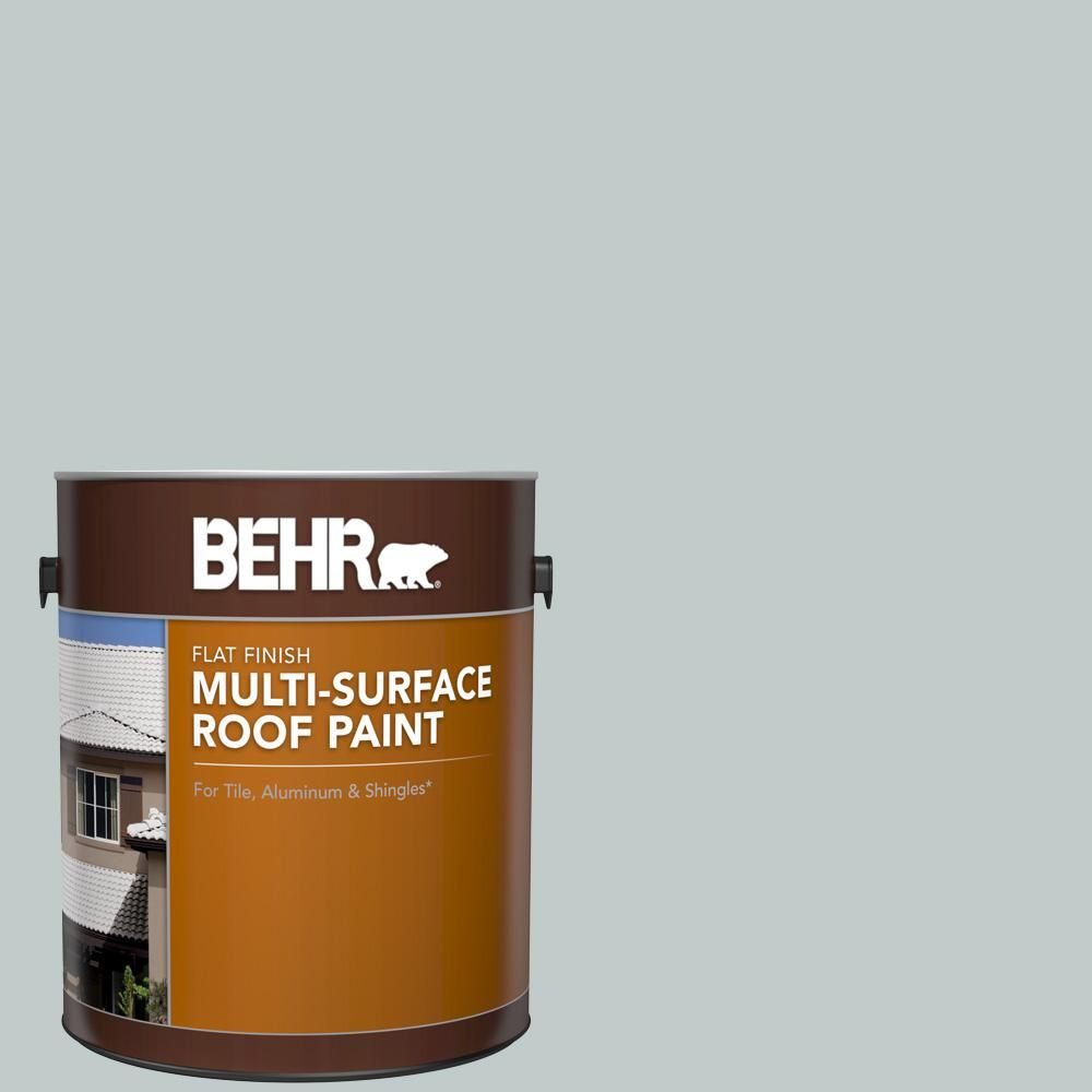 Best Behr 1 Gal Rp 12 Royal Slate Flat Multi Surface Exterior 640 x 480