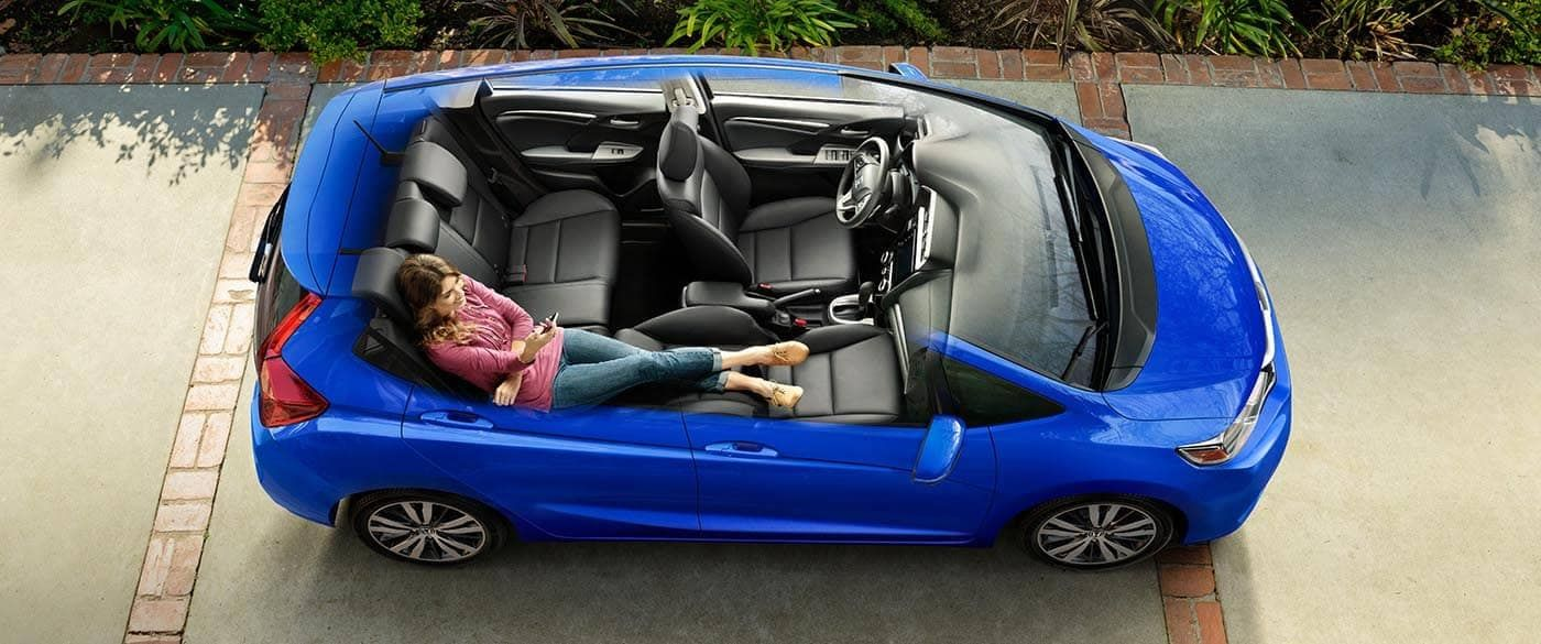2019 honda fit cargo features and dimensions honda fit