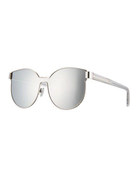 ce2c9ae4efac KAREN WALKER Star Sailor Mirrored Sunglasses
