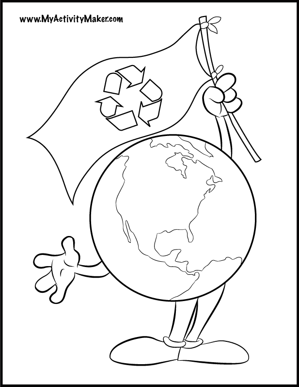 We Hope Earth Day Coloring Pages Can Be A Learning Place For Children To Get Know The Description From Daycoloringpages I Searched F