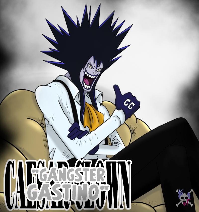 Gangster Gastino (Caesar Clown) by KuroTeo | One pièce manga ...