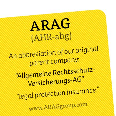 However You Say Arag We Re First In Legal Insurance Legal