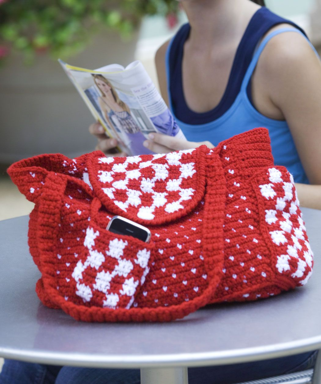 Everyday Tote~cute pattern ...<3 | crochet | Pinterest | Gehäkelte ...