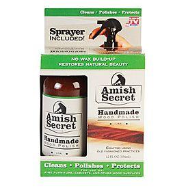 As Seen On Tv 174 Amish Secret Handmade Wood Polish At Big