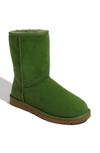7918b0fa61f Green Uggs I've never seen these before | UGGs | Ugg classic short ...