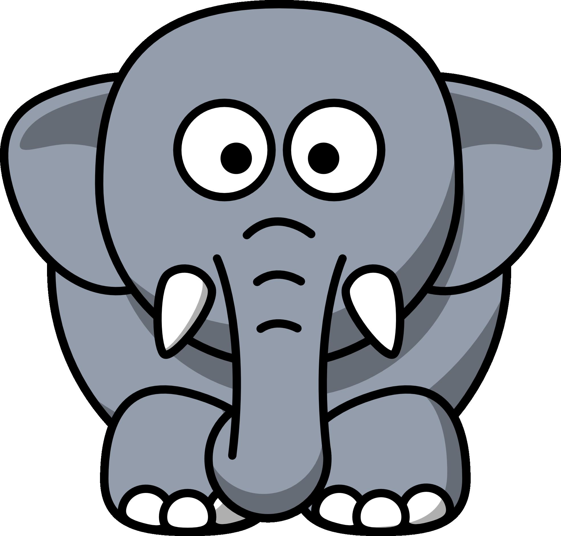 king elephant fun icebreaker birthday themes zoo animals rh pinterest com Funny Elephant Clip Art cute elephant face clipart