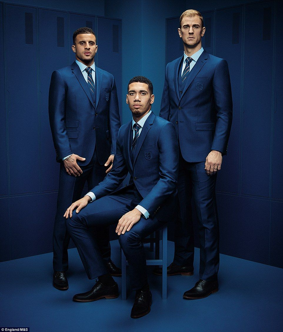 England reveal euro 2016 suit made by marks spencer