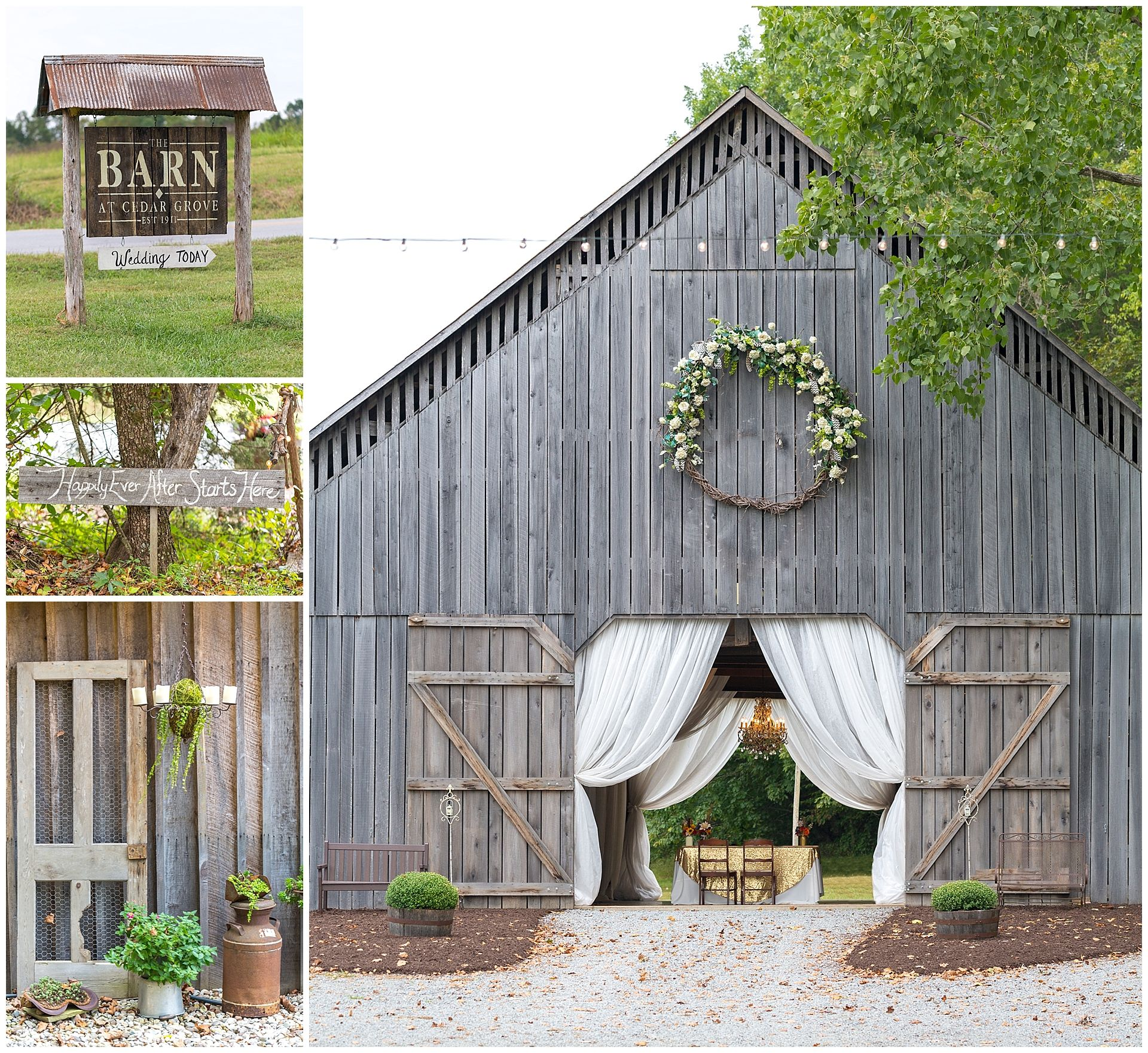 Rustic Wedding at the Barn at Cedar Grove in Greensburg ...