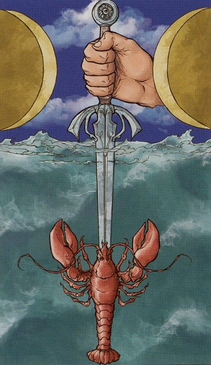 L'as d'épées - Universal Wirth Tarot par Giordano Berti & Stefano Palumbo