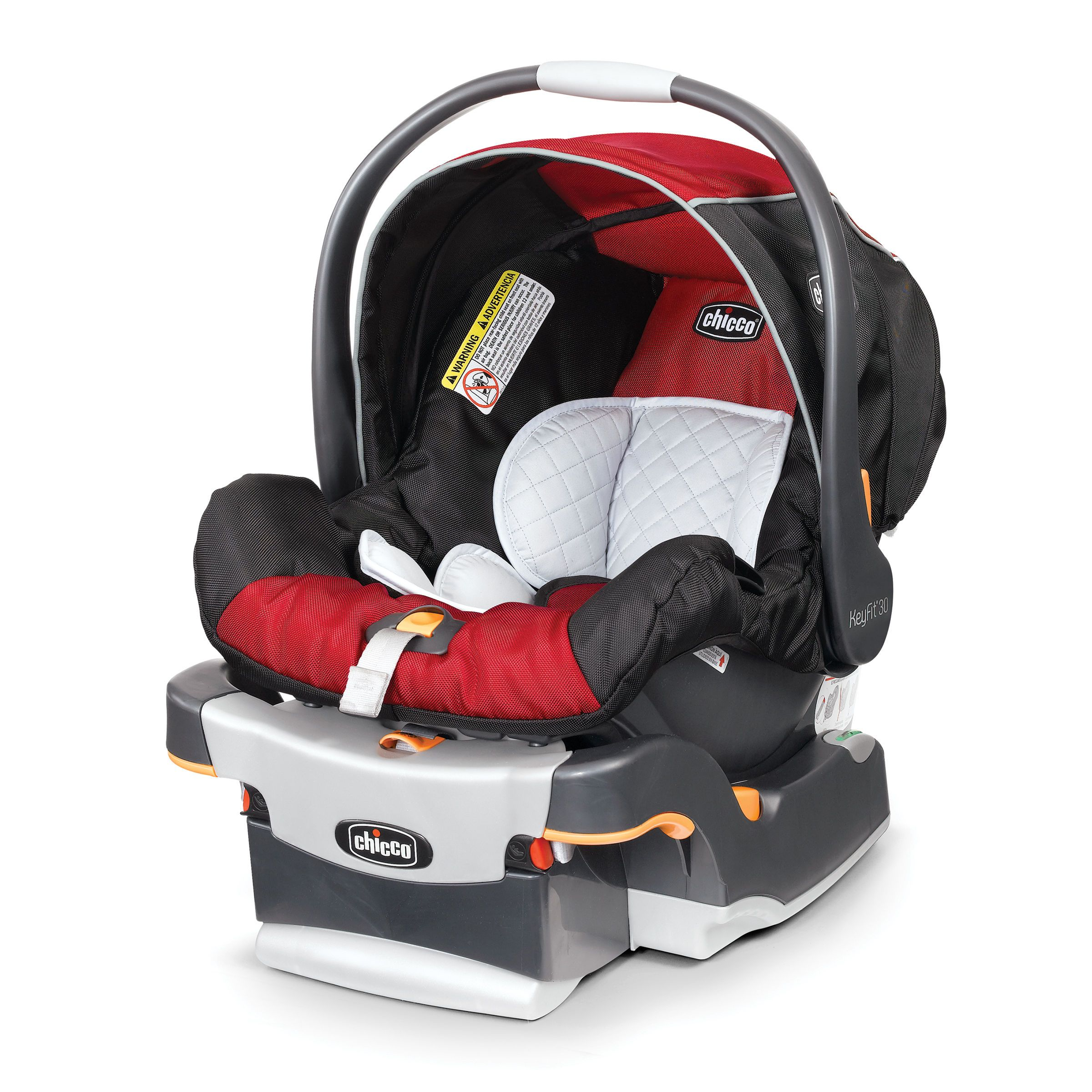 Chicco Fire KeyFit 30 Car Seat With Extra Base For Infants 4 To Pounds Use Travel Systems