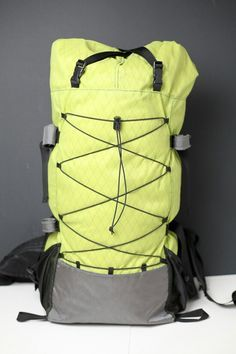 My First Diy Backpack Backpacking Light Light Backpack Diy Backpack Backpacking