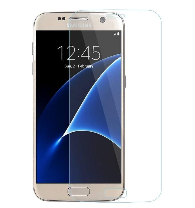 Samsung Galaxy S7 Full Coverage Clear Tempered Glass Screen