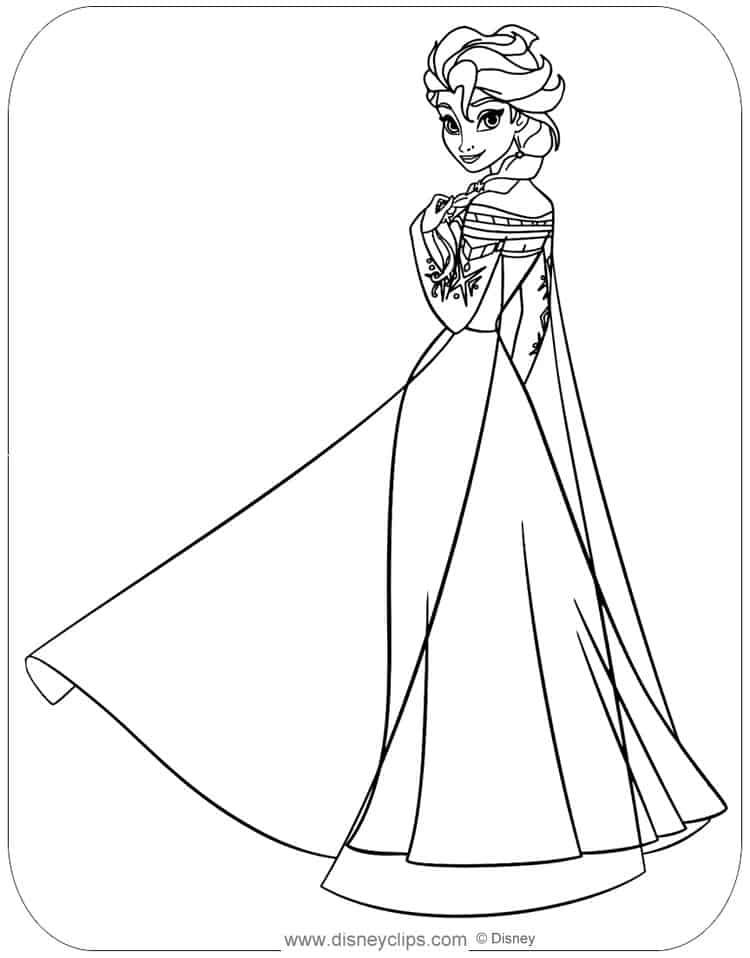 Free Elsa Coloring Pages Printable Free Coloring Sheets Elsa Coloring Pages Princess Coloring Pages Elsa Coloring